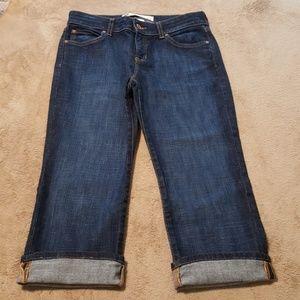 GAP Denim Capris/Cropped Jeans. Sz 6.